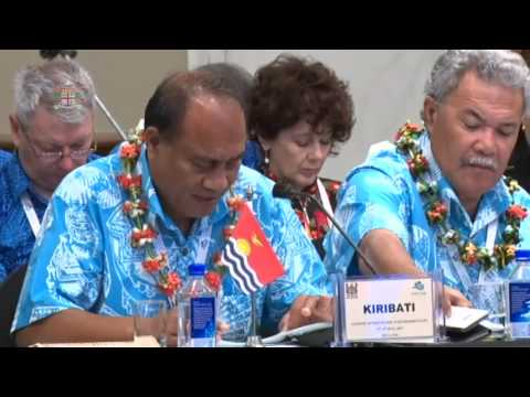 CAPP 2017: Leaders' response by the President of Kiribati