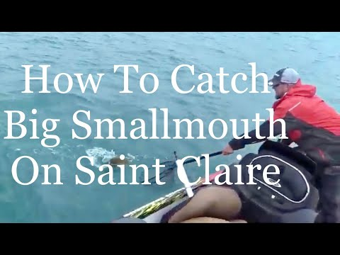 How To Catch Big Smallmouth On Lake Saint Claire
