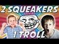 2 Squeakers VS 1 Troll (Funny Black Ops 2)