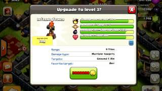 Clash Of Clans Christmas Update New Loot System + Inferno Tower Gameplay!