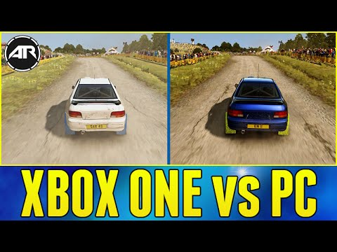 dirt rally xbox one vs pc graphics gameplay car list. Black Bedroom Furniture Sets. Home Design Ideas