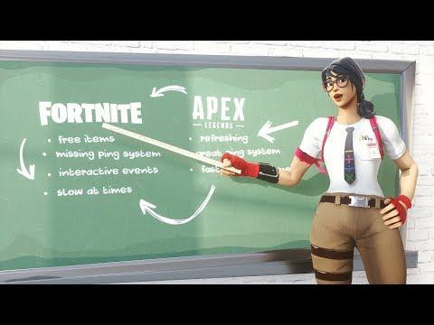 The Fortnite VS Apex Legends Debate (EXPLAINED)