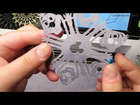 Paper Mickey And Olaf Snowflake Tutorial - Learn How To Make Snowflakes In 5 Minutes Disney DIY
