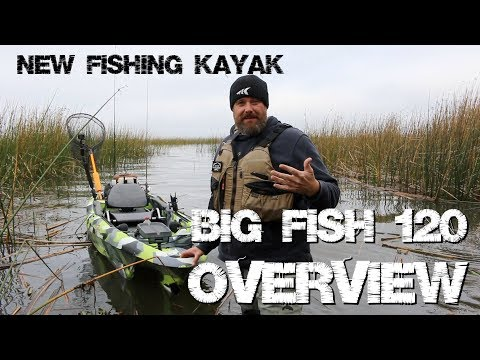 Big Fish 120 Overview - NEW Fishing Kayak From 3 Waters Kayaks