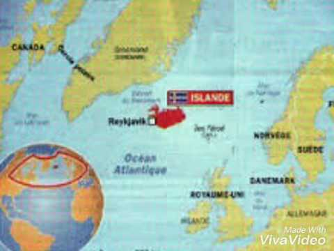 Islande Carte G