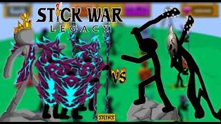 Stick war Legacy : Huge Update [SKINS] ALL SKINS UNLOCKED - [Hack]  VAMP VS FINAL BOSS INSANE MODE