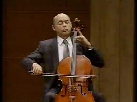 Janos Starker - Bach Cello Suite 3 V. Bourrés