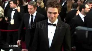 Robert Pattinson at the 81st Academy Awards part 1