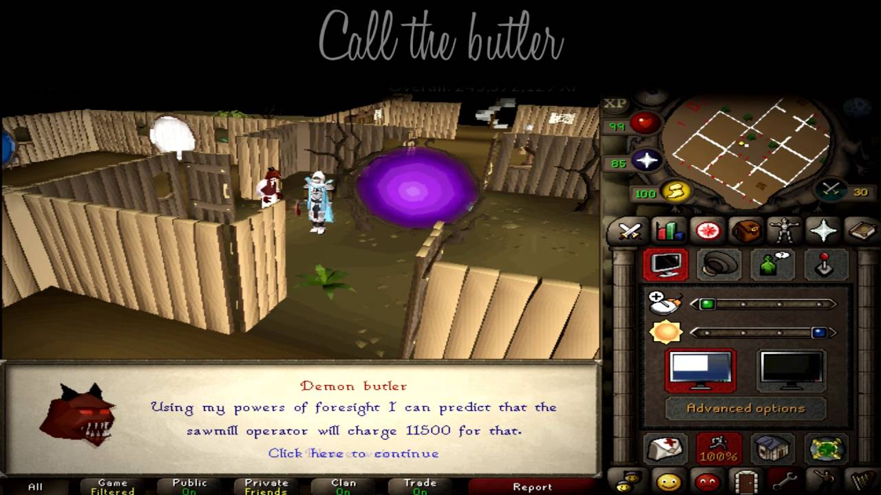 How to bank 99 construction on ironman (OSRS)