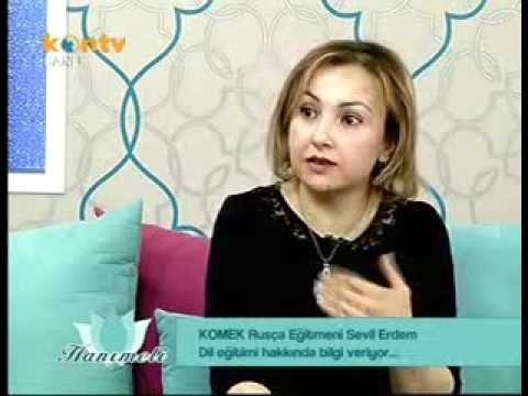 Hanımeli kontv komek rusça dil eğitimi SEVİL ERDEM ve bağlama MESUT ÇETİNKAYA 2