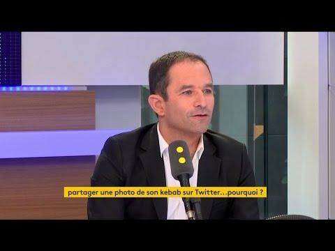 """Le kebab de Benoît Hamon : """"je l'ai mangé"""""""
