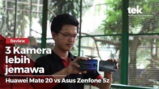 Perbandingan Huawei Mate 20 vs Asus Zenfone 5Z