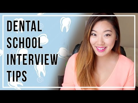 Dental School Interview Tips!