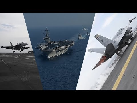 This US Aircraft Carrier Strike Group  is Now Visiting  the  Philippines