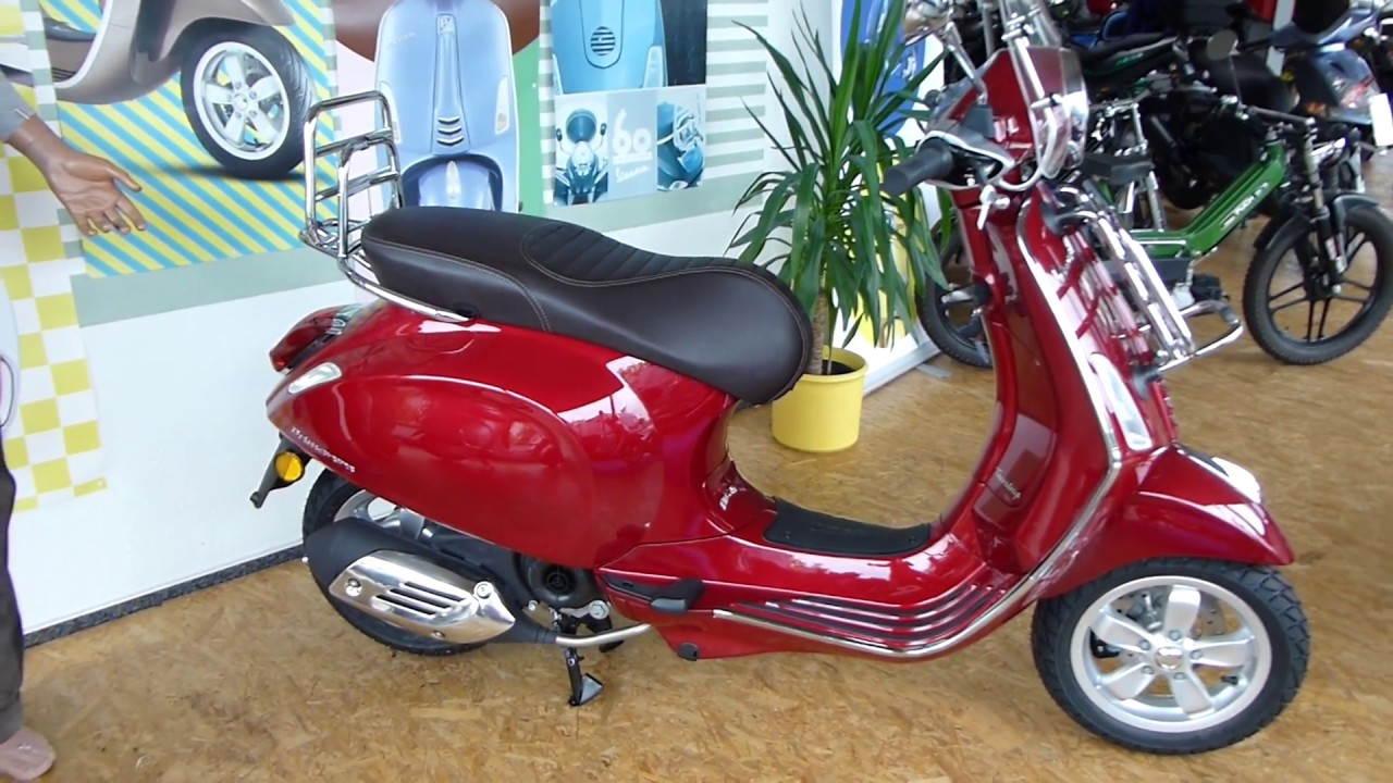 vespa primavera 50 touring 2017 youtube. Black Bedroom Furniture Sets. Home Design Ideas