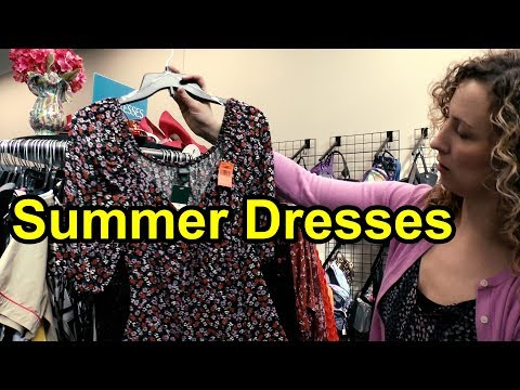 Find Brand New Summer Dresses Galore At Goodwill