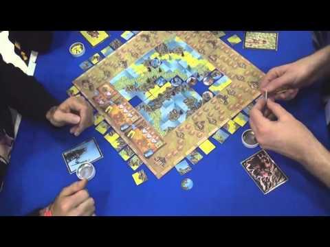Four Gods playthrough & scoring — Spiel 2015