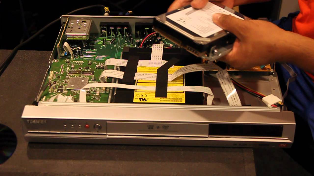 DVR Hard Drive Replacement