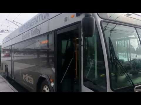 A tour of the GDRTA Next Gen Trolley Bus in Dayton, Ohio