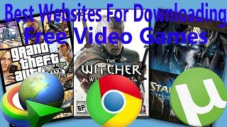Top Three Websites For Downloading Free Video Games