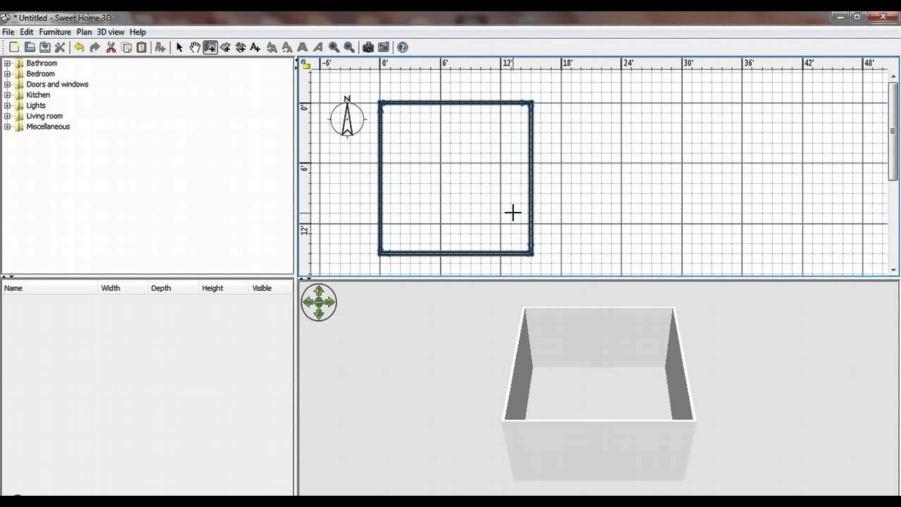 Since it doesn't have complex advanced features such as some other top tier software on our list, it's very easy to navigate around and it's much more accessible for beginner users and those … Best Video Tutorials About Sweet Home 3d Sweet Home 3d Blog