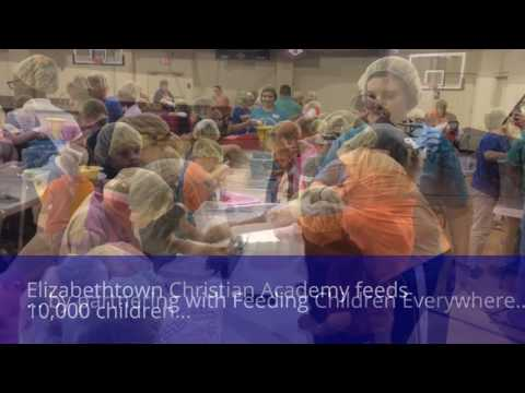 Elizabethtown Christian Academy feeds 10,000 children