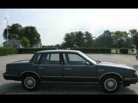1987 oldsmobile cutlass ciera brougham for sale in hartsville sc youtube. Black Bedroom Furniture Sets. Home Design Ideas