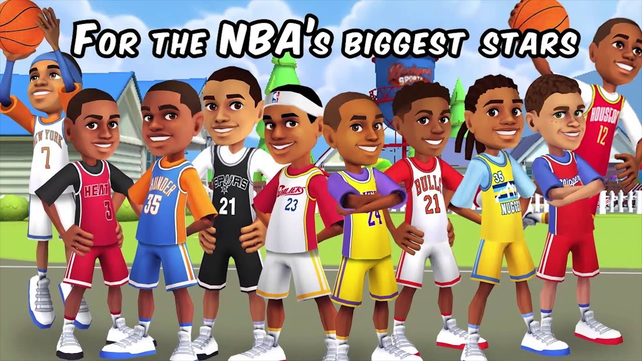 Backyard Sports PowerUps NBA Basketball 2015 - YouTube