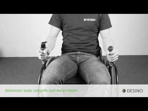 Lesson 04 - Lenken: Richtig Rolli-Fahren mit den Hebelrollstühlen radius und medius