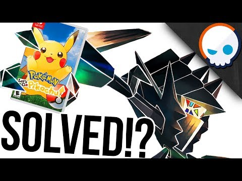 NECROZMA Explains the Let's Go Pikachu Timeline! | Gnoggin | Pokemon