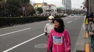 東京マラソンで今...