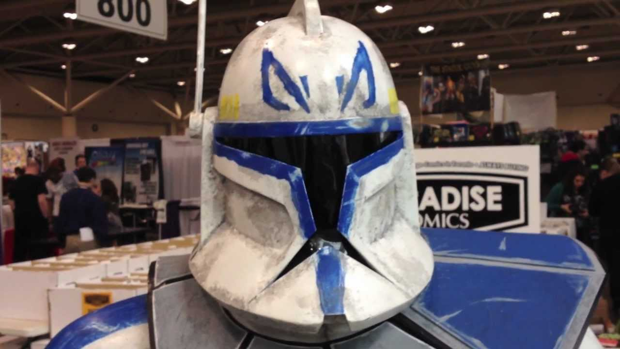 Captain Rex Costume Toronto Comic Con 2012 & Captain Rex Costume Toronto Comic Con 2012 - YouTube