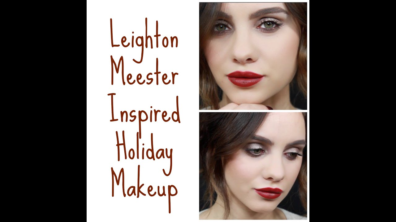Leighton meester inspired holiday makeup youtube leighton meester inspired holiday makeup baditri Gallery