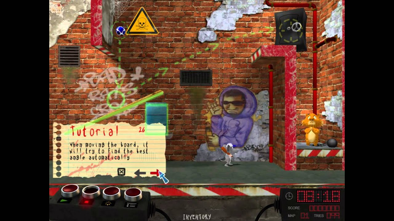 Bad Rats Tutorial Level 1 Full Walkthrough 1080p No Commentary Lets Play Gameplay Trailer