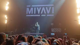 MIYAVI IN MOSCOW. Talk fancam [IZVESTIYA HALL]