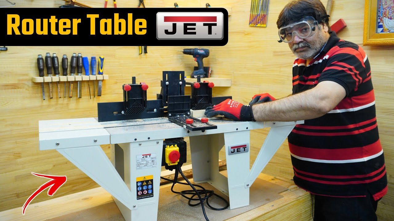 JET-JRT- 2 Heavy Duty Router Table Machine -Multi Purpose Router Table/Wood Working Machine 2021
