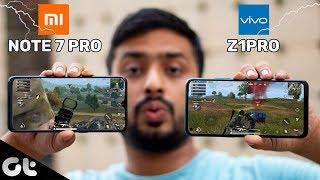 Vivo Z1PRO Vs Redmi Note 7 Pro Gaming Comparison | Sabse Best Kaunsa? | GT Gaming