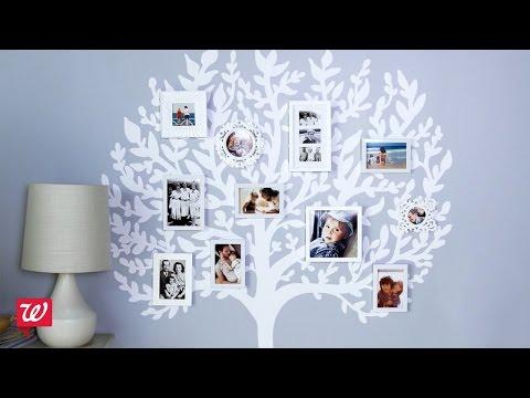 How-To Photo Fun: Family Tree | Walgreens
