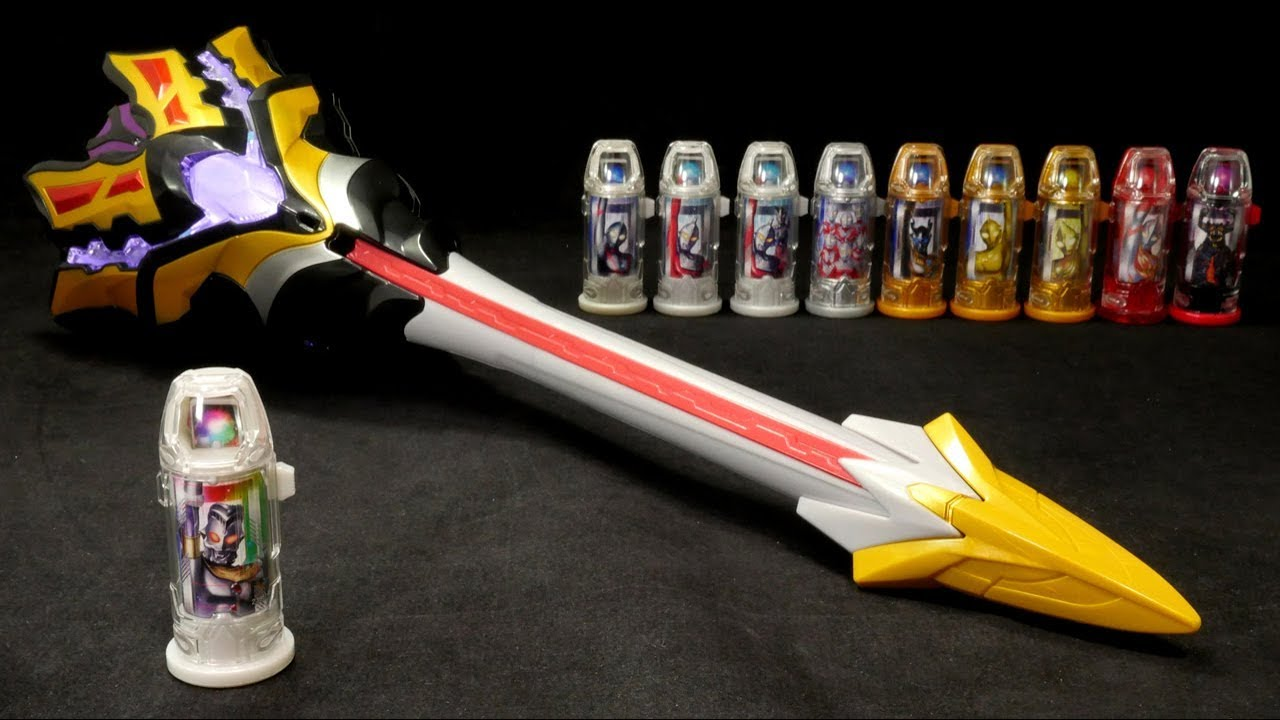 New BANDAI Ultraman GEED DX King Sword with King Capsule