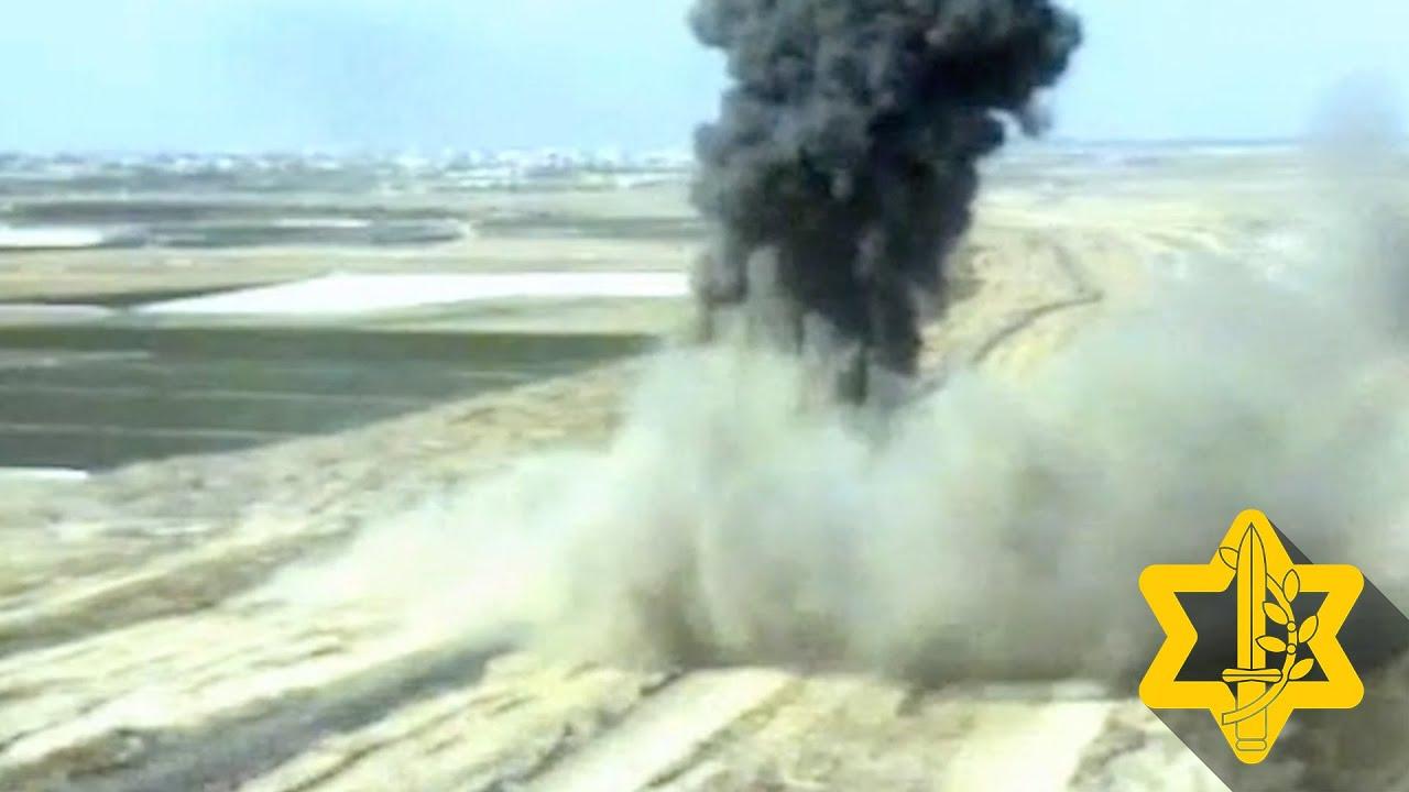 השמדת מנהרת טרור של הג׳יהאד האסלאמי בתקיפת חיל האוויר | צה״ל