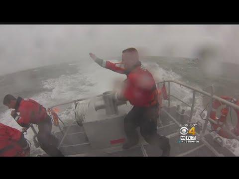 Coast Guard Takes Advantage Of Rough Seas For Training