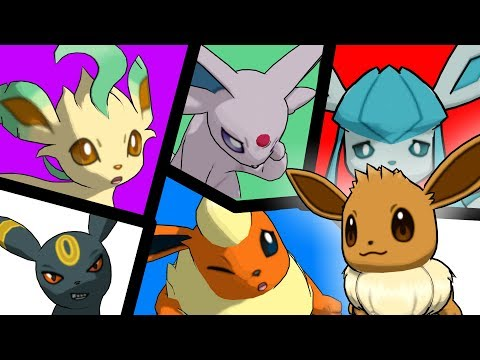 Vacation! Eevee Family 7 _ Pokémon 3D animation from YouTube · Duration:  2 minutes 32 seconds