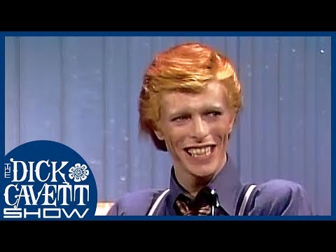 David Bowie Owes His Style to His Fans   The Dick Cavett Show
