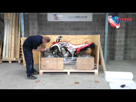 Packing a Quad Bike / ATV - 1st Move International