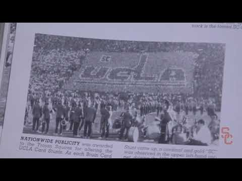 USC Football - 1957 Card Stunt