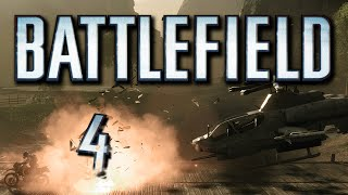 Battlefield 4 Funny Moments - Illuminati Confirmed, The Rock, Helicopter Trick!