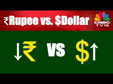 Why is Indian Rupee Falling Against Dollar? | Things to Know | CNBC-TV18