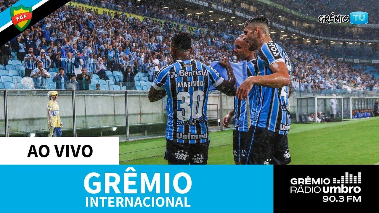 Ao Vivo Gremio X Internacional Campeonato Gaucho 2019 L Gremiotv Youtube