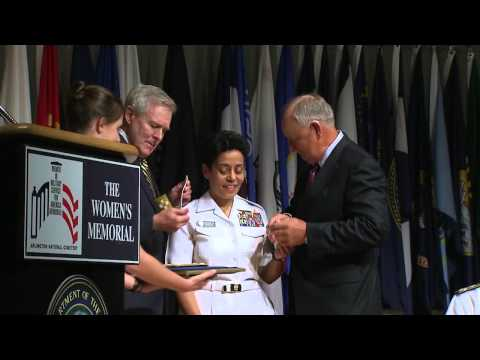 Howard Becomes Navy's First Female Four-Star Admiral