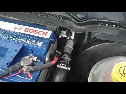 Выгоняем воздух из системы охлаждения двигателя